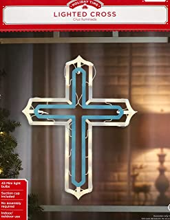 Best lighted easter cross window decoration Reviews