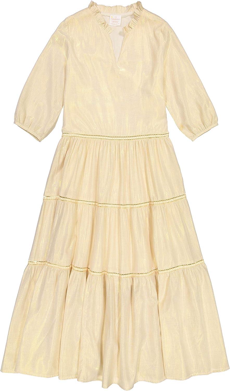 Masala Baby Womens India Dress Metallic gold Casual Dress
