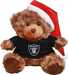 FOCO NFL Unisex Bear with Santa Hat