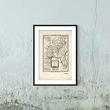 1785 Map|Title: Kaart Van Louisiana, en Florida|Subject: Florida|Louisiana|Southern States|United St