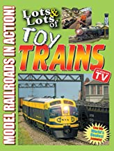 Lots and Lots of Toy Trains - Model Railroading Action!