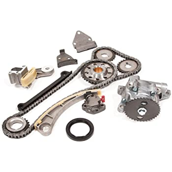 ROADFAR Timing Chain Kits Timing Chain Engine fit for 2004 2005 2006 2007 Suzuki Aerio 2.3L 2290CC 140Cu l4 Gas DOHC Naturally Aspirated in