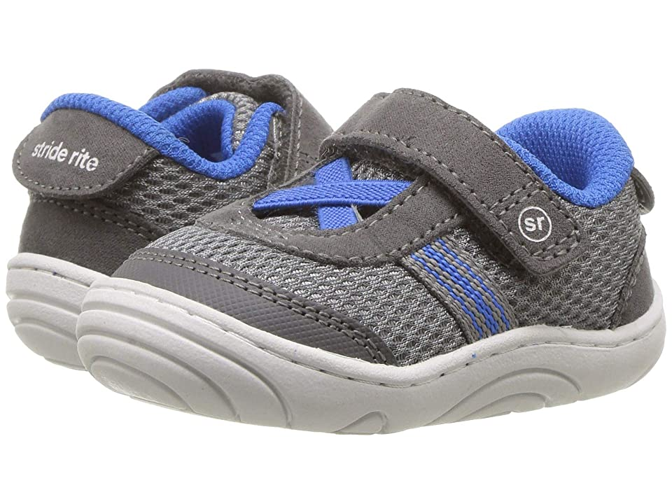 Stride Rite Jessie (Infant/Toddler) (Grey/Blue) Girl