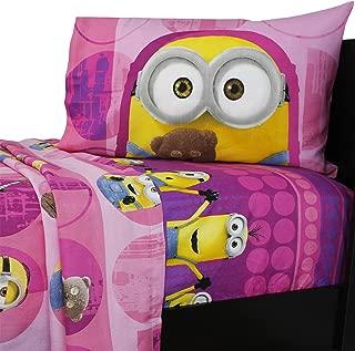 Dream Works Minion Girls Twin Sheets Set