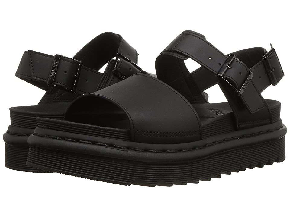 Dr. Martens Voss (Black Hydro Leather) Women