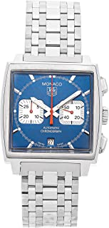 Monaco Mechanical (Automatic) Blue Dial Mens Watch CW2113.BA0780 (Certified Pre-Owned)