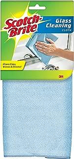 Scotch-Brite Non-Scratch Glass Cleaning Cloth, 12 Count