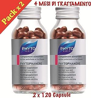 Phyto Phytophanere - Suplemento alimenticio para el cabello y las uñas - 4 meses