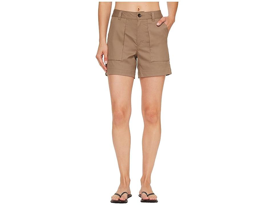 NAU Kush Shorts (Dark Khaki) Women