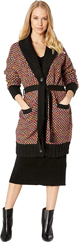 Soft Woven Multicolor Cardigan