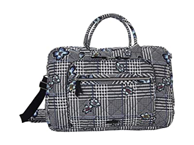 Vera Bradley Performance Twill Lay Flat Weekend Bag (Bedford Plaid) Bags