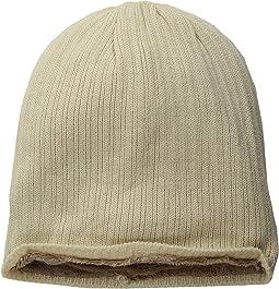 Rib Knit Cozy Beanie