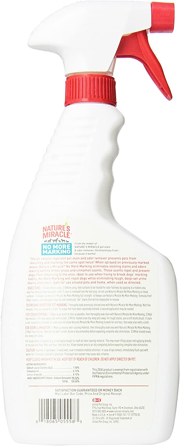 Nature's Miracle No More Marking Stain & Odor Remover : Pet Odor And Stain Removers : Pet Supplies