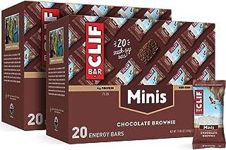 CLIF BAR - Mini Energy Bar - Chocolate Brownie - (0.99 Ounce Snack Bar, 40 Count)