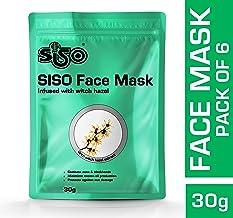 Siso Face Mask 30g (Pack of 6)