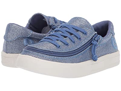 BILLY Footwear Kids Classic Lace Low (Toddler/Little Kid/Big Kid) (Beach Blue) Girls Shoes