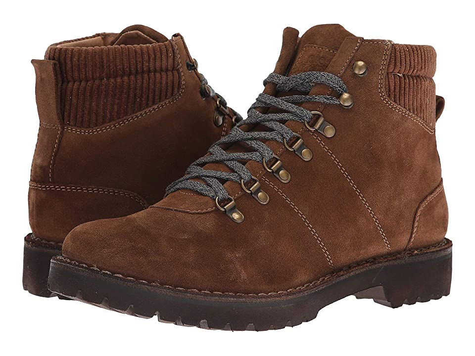 eleventy Mix Media Hiker Boot (Camel) Men