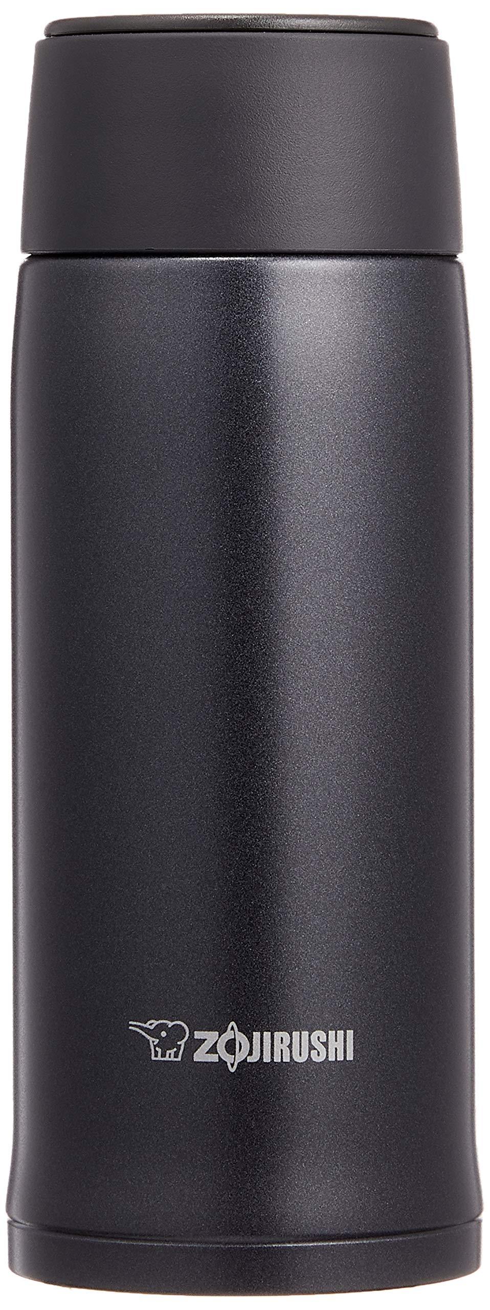 象印マホービン(ZOJIRUSHI) 水筒 ステンレス マグ ボトル 直飲み 軽量 保冷 保温 360ml ブラック SM-NA36-BA