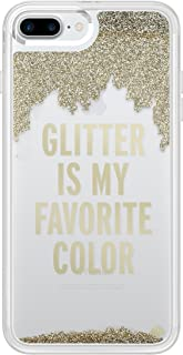Incipio Technologies KSIPH-051-GLD Kate Spade New York Liquid Glitter Case fits Apple iPhone 7 Plus - Glitter is My Favorite Color (Gold/Clear)