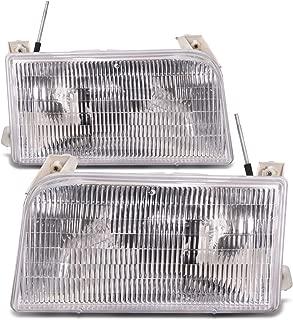 HEADLIGHTSDEPOT Compatible with Tiffin Allegro Bay 2001-2003 Motorhome RV Pair Front Headlights Set
