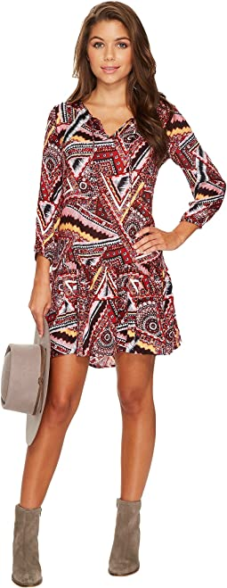 Kelly Printed Dress