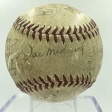 1939 St. Louis Cardinals Team Signed Autographed NL Baseball Joe Medwick - PSA/DNA Certified - Autographed Baseballs