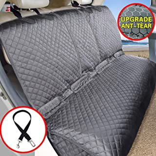 Vailge Bench Dog Seat Cover for Back Seat, 100% Waterproof Dog Car Seat Covers, Heavy-Duty & Nonslip Back Car Seat Covers ...
