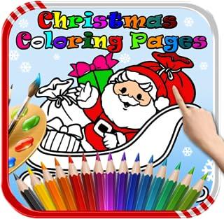 Santa Colouring Book