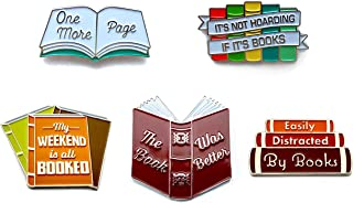 Amazon com: Literary - Buttons & Pins / Accessories