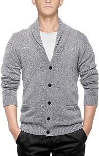 Match Men's K|G Series Shawl Collar Cardigan Sweater