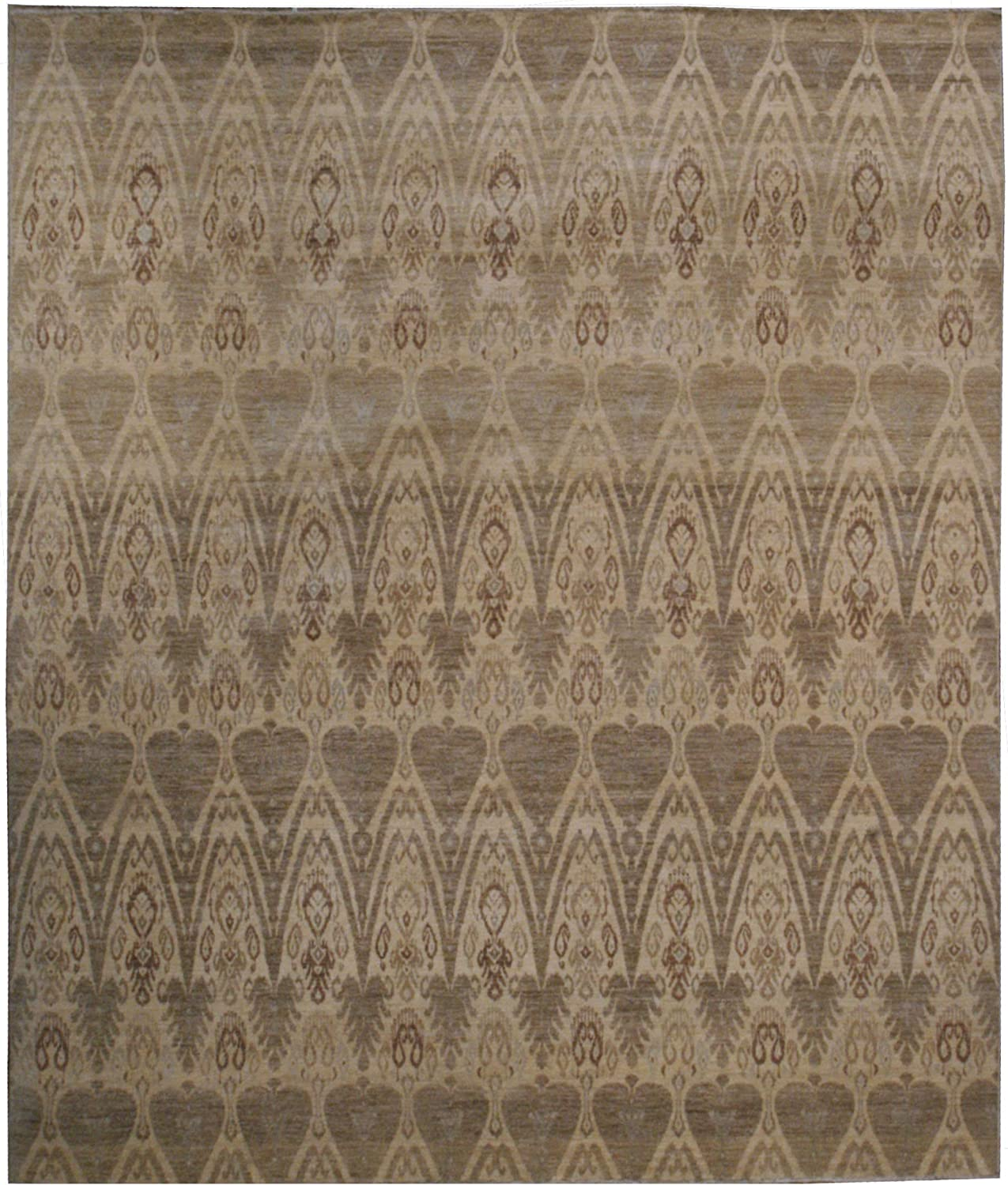 Transitional Ikat Rug Wool 10' - Challenge the lowest price of Japan ☆ 8' x Max 73% OFF