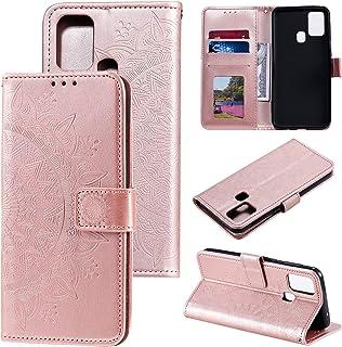 LODROC Lederen Portemonnee Case voor Xiaomi Redmi Note 8, [Kickstand Feature] PU Lederen Portemonnee Case Flip Folio Cover...