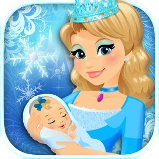 My Newborn Baby Ice Princess & Mommy Care