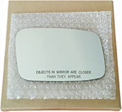 Mirror Glass and Adhesive - Volvo C70 S40 V40 S70 V70 850 Passenger Right Side Replacement
