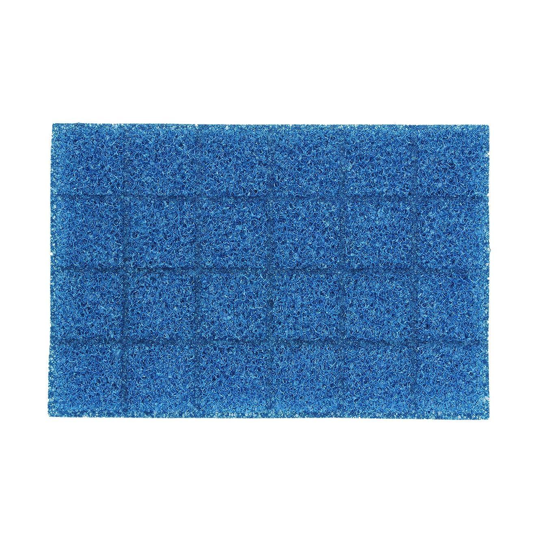 枠コイルきらめきレック 激落ちくん 溝まで届く シンク洗い スポンジシート (包んで?巻いて?折って使う ) 19×13cm K00214
