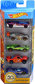 Hot Wheels 50th Anniversary 5 Pack Cars Set - 3 Years & Above