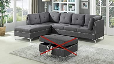 grey contemporary sectional