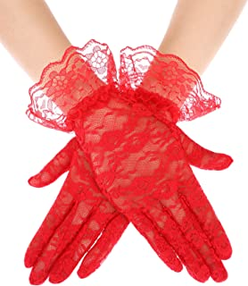Best yellow lace gloves Reviews