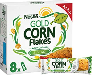 Nestle Gold Cornflakes Cardamom Breakfast Cereal Bar 20g, 8 Pieces (Pack of 1)