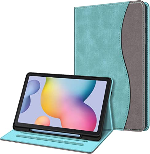 Fintie Case for Samsung Galaxy Tab S6 Lite 10.4'' 2020 Model SM-P610 (Wi-Fi) SM-P615 (LTE) with S Pen Holder, Multi-A...