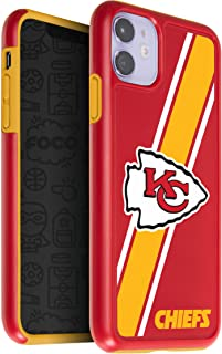 One Size Team Color FOCO NFL St Louis Rams Unisex iPhone 11 Pro 5.8 Inch Screen Only Dual Hybrid Impact Licensed Case