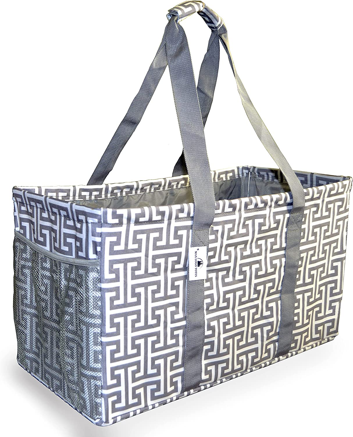 Extra Large Utility Tote Save money Bag Oversized Canvas - Denver Mall Collapsible Mat