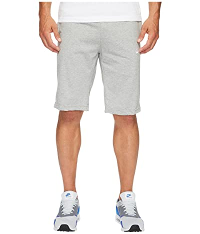 Nike Sportswear Short (Dark Grey Heather/White) Men