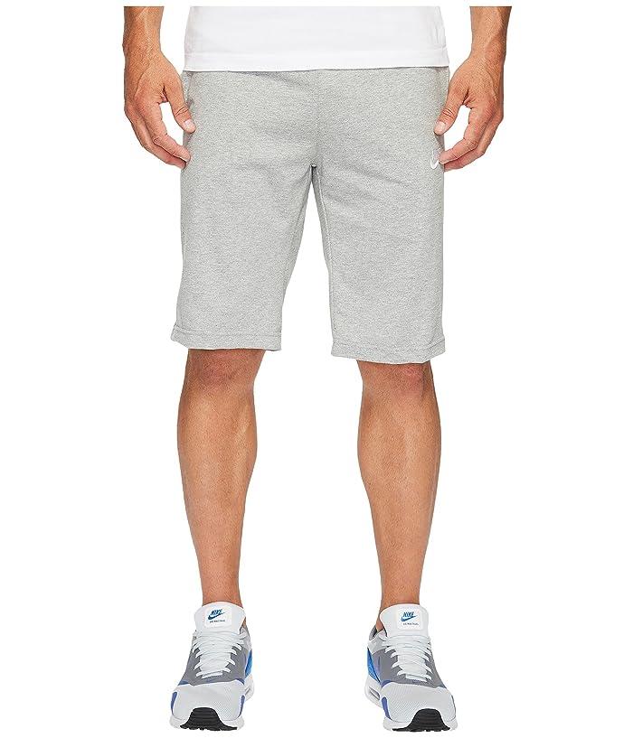 Nike Sportswear Short (Dark Grey Heather/White) Men
