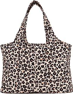 Women Fashion Large Tote Shoulder Handbag Waterproof Tote Bag Multi-function Nylon Travel Shoulder