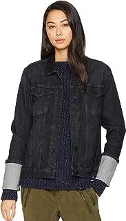 [BLANKNYC] Blank NYC Womens Charcoal Grey/Black Trucker Jacket in Punk Rocker