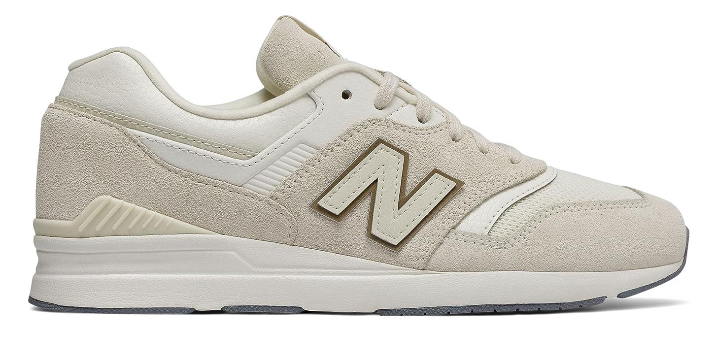 合わせてロイヤリティヘッドレス(ニューバランス) New Balance 靴?シューズ レディースライフスタイル Leather 697 Moonbeam US 8 (25cm)