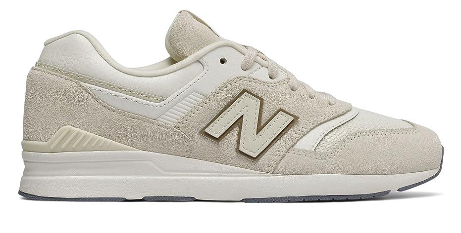 謝る上がる確立します(ニューバランス) New Balance 靴?シューズ レディースライフスタイル Leather 697 Moonbeam US 9 (26cm)
