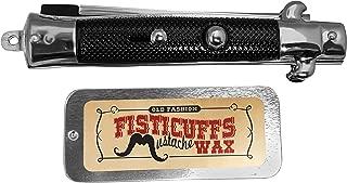 Fisticuffs Mustache Wax / Switchblade Comb Set by Fisticuffs Mustache Wax