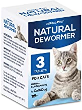 HERBALPET 8in1 Health Supplements | Cat Dewormer Alternative | Advanced Formula | Works..
